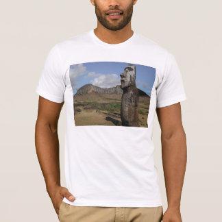 Camiseta de Moai de la isla de pascua