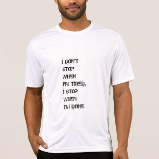Camiseta de motivación de la cita