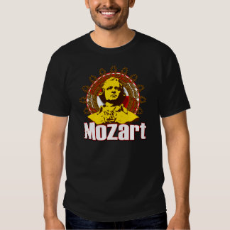 Camiseta de Mozart Playera