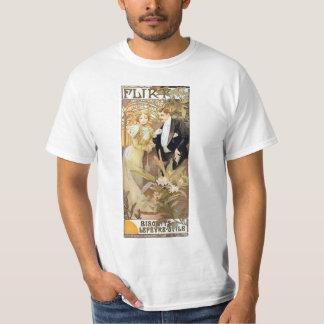 Camiseta de Mucha del vintage del ligón Playera