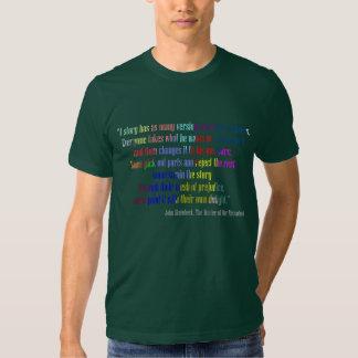 Camiseta de muchas versiones camisas
