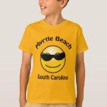 Camiseta de Myrtle Beach, Carolina del Sur Smilie Camisas