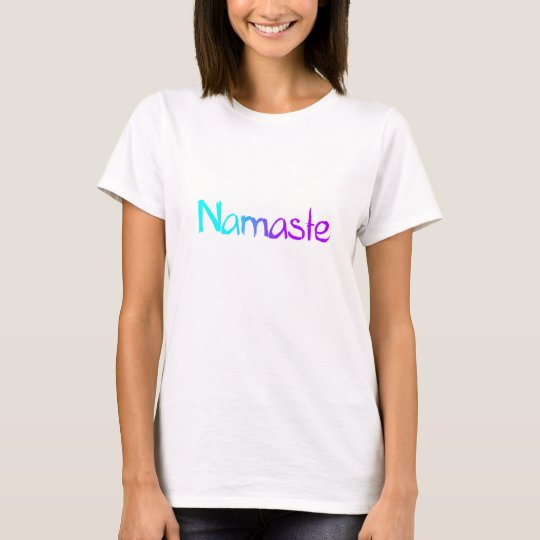 Camiseta de Namaste