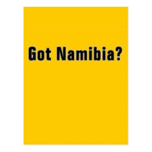 "Camiseta de Namibia ""África"" y etc Tarjetas Postales"