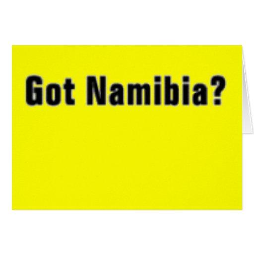 "Camiseta de Namibia ""África"" y etc Tarjetón"