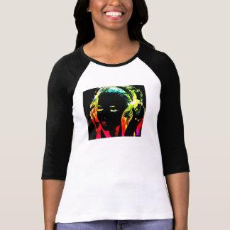 Camiseta de neón de DJ