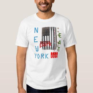 Camiseta de New York City del arte pop Playera