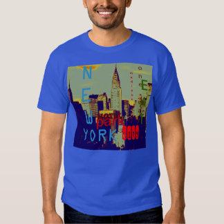 Camiseta de New York City del arte pop Polera