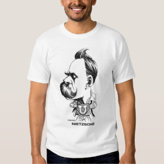 Camiseta de Nietzsche Playera
