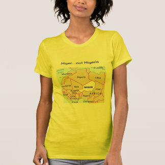 Camiseta de Niger no Nigeria