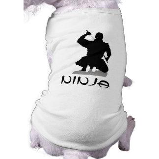 ¡Camiseta de Ninja para los chuchos Ropa De Perro