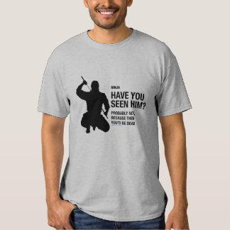 Camiseta de Ninja Poleras