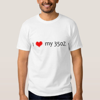 Camiseta de Nissan 350Z Playeras