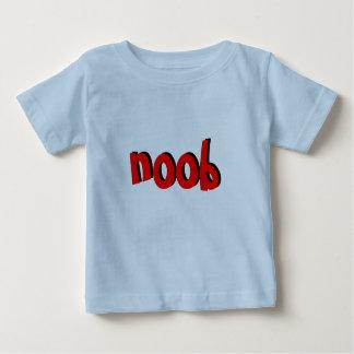 Camiseta de Noob del bebé Remera