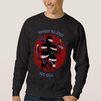 Camiseta de nordeste de Nenjas de la palabra de Sudaderas Encapuchadas
