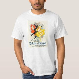Camiseta de Nouveau del arte de Julio Cheret