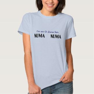 Camiseta de Numa Numa del ozono Playeras