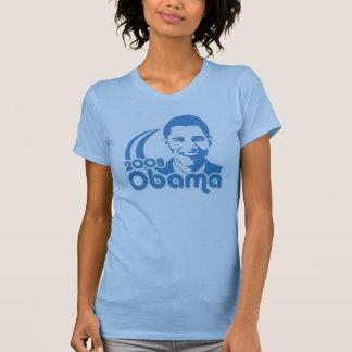 Camiseta de Obama 2008 del vintage