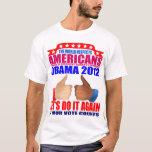 Camiseta de Obama: 2012 Obama - respecto
