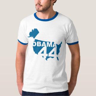 Camiseta de OBAMA 44 Camisas
