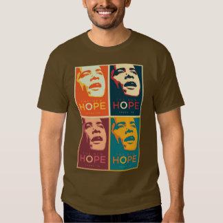 Camiseta de Obama Camisas