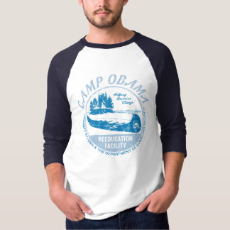 Camiseta de Obama del campo Remera