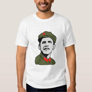 Camiseta de Obama Mao Playera