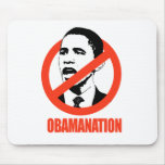 CAMISETA DE OBAMANATION/DE ANTI-OBAMA TAPETES DE RATONES