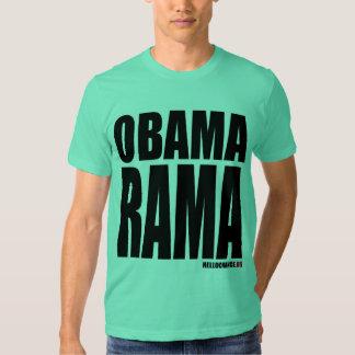 Camiseta de OBAMARAMA Playera