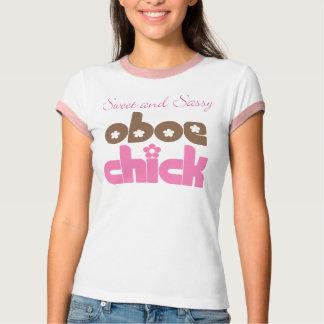 Camiseta de Oboe de la diversión para el músico