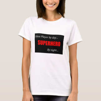 Camiseta de Oboe del super héroe