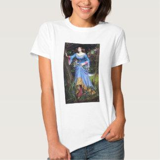Camiseta de Ofelia del Waterhouse Playera