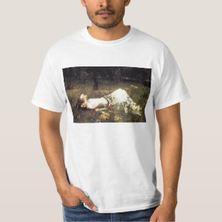 Camiseta de Ofelia del Waterhouse Polera