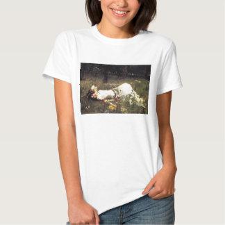 Camiseta de Ofelia del Waterhouse Poleras