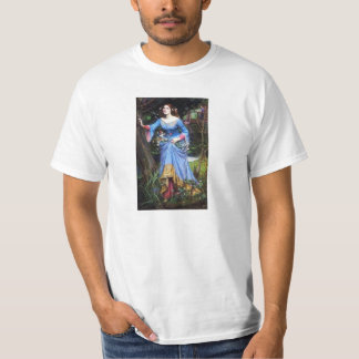 Camiseta de Ofelia del Waterhouse Remera