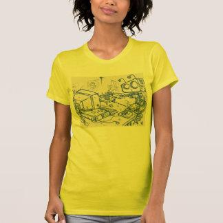 Camiseta de Officebot (el M) del chica