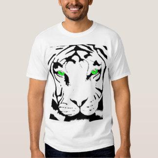 camiseta de ojos verdes del tigre remeras