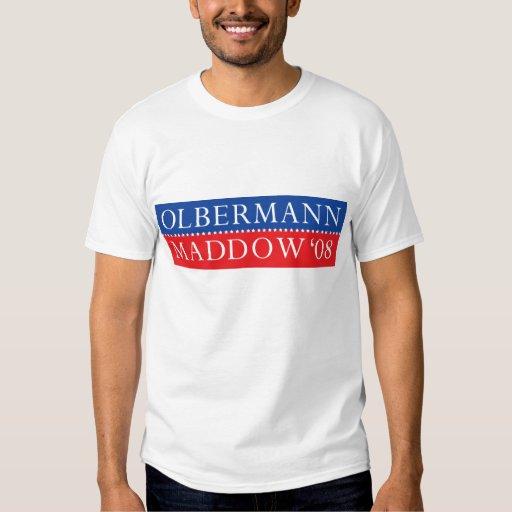 Camiseta de Olbermann Maddow Playera