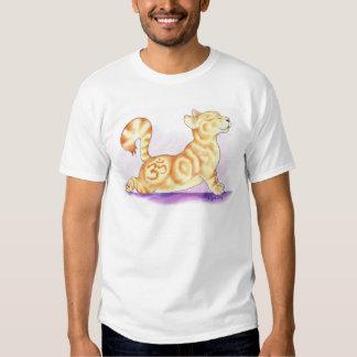 Camiseta de OM Kittie de la yoga de la sol Poleras