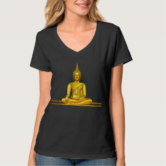 Camiseta de oro de Buda