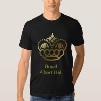 Camiseta de oro de la corona - Albert real Pasillo Remera