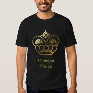 Camiseta de oro de la corona - mansión playeras