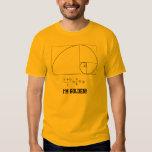 Camiseta de oro del coeficiente camisas