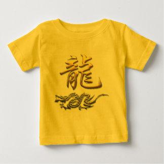 Camiseta de oro del dragón del zodiaco chino camisas