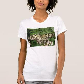 Camiseta de papel de la mariposa de la cometa