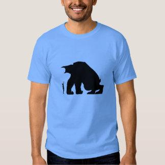 Camiseta de Papo y de Yo - monstruo oscuro y Quico Remeras