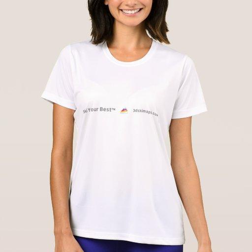 Camiseta de Park City 3dSkiMaps (trasera)