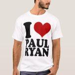 Camiseta de Paul Ryan del corazón I