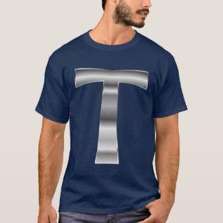 Camiseta de plata de la cruz de Tau…