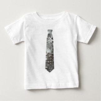 Camiseta de plata del lazo de la falsificación de playera para bebé